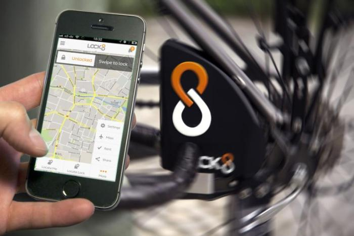 LOCK8 World's First Smart Bike Lock Launches Globally