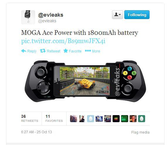 MogaAcePoweriPhone