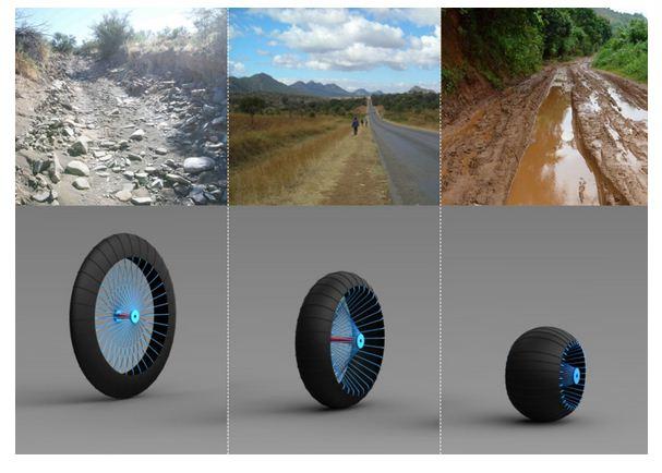 Roadlesswheel
