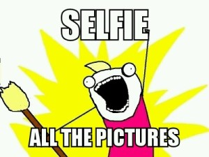 Selfie ALL the things!